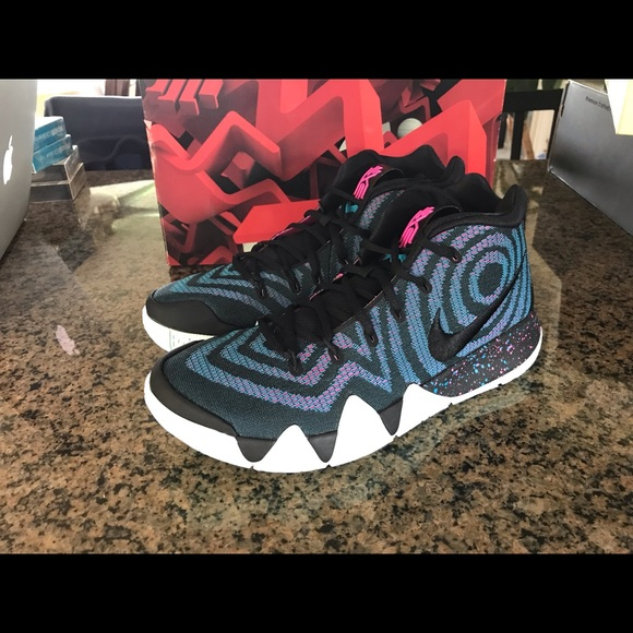 sports shoes 5863a e0b49 Kyrie 4 decades pack 80s basketball NWT